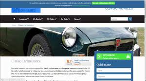 classic car insurance in uk