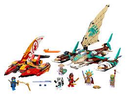 Giá bộ LEGO NINJAGO Phần 14: Đảo được tiết lộ