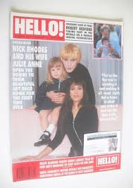 Hello! magazine - Nick Rhodes and Julie Anne Rhodes cover (17 February 1990  - Issue 90)