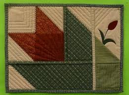 8 best Cotton Theory Quilting images on Pinterest | Hand crafts ... & Cotton Theory tulip place mats. I'm doing mine in the spring colors of Adamdwight.com