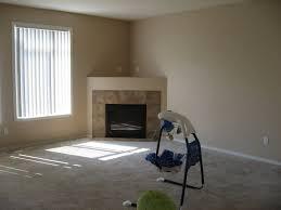 modern corner fireplace decoration