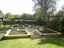 garden layout plans. Raised Garden Layout Plans | Sleepers - Gardening Ideas