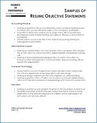 Job Objectives On Resume Job Objectives For Resume Samples ceciliaekici 69