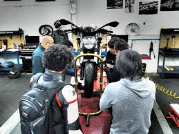 intro to motorcycle maintenance service at moto guild