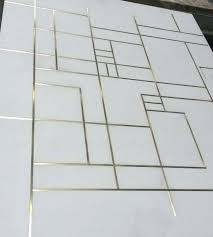 prep concrete floor for tile concrete floor tiles with brass inlay the fine lines how to