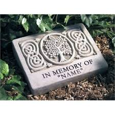 personalized memorial garden stones in memory garden stones memorial garden stone personalized tree of life custom
