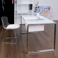 office table with glass top. Office Desk Black Frosted Glass Top All In White With Plan Table