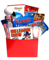 take me out to the ball game gift basket