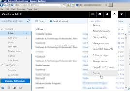Office 365 Live How To Disable Junk Email Filter In Outlook Mail Outlook Com