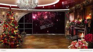 photo studio christmas background. Exellent Studio Christmas TV Studio Set 01  Virtual Background Loop Stock Video Footage For Photo U