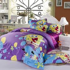 Spongebob Queen Size Duvet Cover Bedding