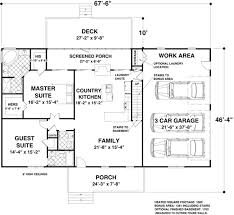 peaceful ideas one story house plans under 1700 sq ft 2 traditional style plan 3 beds