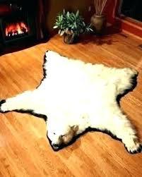 bear rug faux real polar bear rug faux for a skin white with head genuine bear rug faux faux bear skin