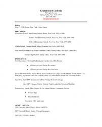 Fast Food Resume Top Service Crew Klembor Resume Library