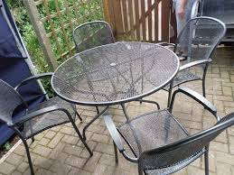 round metal garden table and 6 chairs round metal garden table round metal garden table and chairs garden table round metal round metal garden table