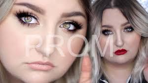 in depth natural prom makeup look