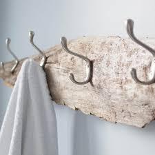 a beachcomber s rustic towel rack