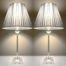 Nightstand Lamps For Bedroom Table Lamp X Bedside Table Lamps Silver Shades Buy Lamps Silver