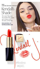 kendall makeup kendall jenner recently launched her first limited edition lipstick with estee lauder kendall seven magazine kendall jenner makeup bag
