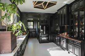 house beautiful kitchen designs. black and white kitchen design by steven miller for house beautiful of the year 2014 designs