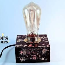 edison table lamp vintage home lighting. Modern Lamp Edison Table Desk E Edison Table Lamp Vintage Home Lighting R