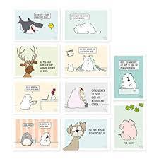 10 Er Set Lustige Postkarten Lustige Geburstagskarten Sprüche