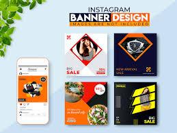 Instagram Banner Design Instagram Banner Design On Behance