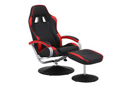 office recliner chair. beautiful chair ovela rx10 deluxe recliner chair with ottoman red racing series for office