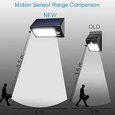 SecurePal 96 LED Solar Outdoor Security Flood Light  Solar LightsLed Security Light Solar