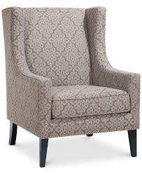 sloane fabric accent chair quick ship  furniture  macy's  fort