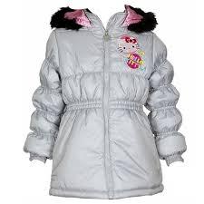 hello kitty infant toddler girl s hk031 puffer hooded winter jacket fashion baby infant