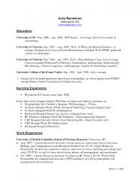 Cover Letter Bsn Resume Sample Nurse Resume Sample Canada Nurse