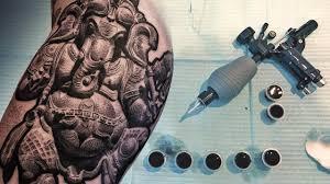 Realistic Ganesha Tattoo