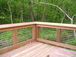 cable deck railing deck cable railing system diy cable wire deck railing