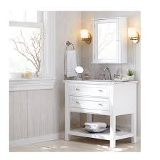 Home Decorators Bathroom Vanities Home Decorators Collection Austell 37 In Vanity In White With