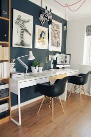 stylish home office desks. Stylish Home Office As Seen In Homestyle Magazine April 2016 - Designed And Executed By Jenny Kakoudakis Farrow \u0026 Ball Railings IKEA MICKE DESKS Desks H