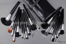 24 pcs set mac makeup brushes whole cosmetics brush sets 1