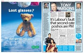 creative advertising examples for digital print media  able specsavers newspaper ad