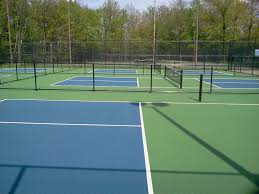 pickleball court size pickleball court surfaces backyard court builders