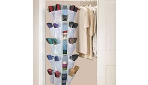 organizers plastic canvas holder cabinet for r target bag hanging seat rack entryway argos shelves closet