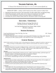 Nursing Graduate Resume Resume Layout Com