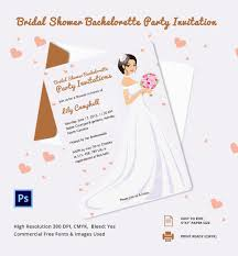 bachelorette invitation psd vector eps ai editable bachelorette party invitation template