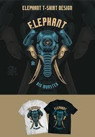 Elephant Shirt Design Elephant Design T Shirt