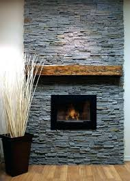 stone over brick fireplace installing stone veneer over brick fireplace