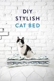 diy stylish cat bed you