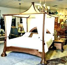 Four Poster Bed Canopy Drapes Curtains 4 Canopies For Sale King Size ...