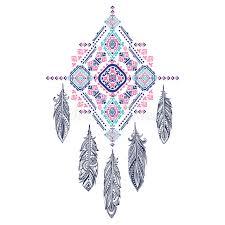 Mexican Dream Catcher Vector Aztec Mexican Tribal Ornament Dream Catcher African Ethn 60