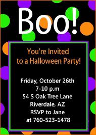 Halloween Invitation Template Halloween Invitation Templates Authorization Letter Pdf 22