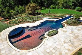 Pool Landscape Design Bedford Ny Glass Tile Pool Spa Cipriano Landscape Design And