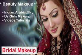 bridal makeup tutorials videos apk screenshot